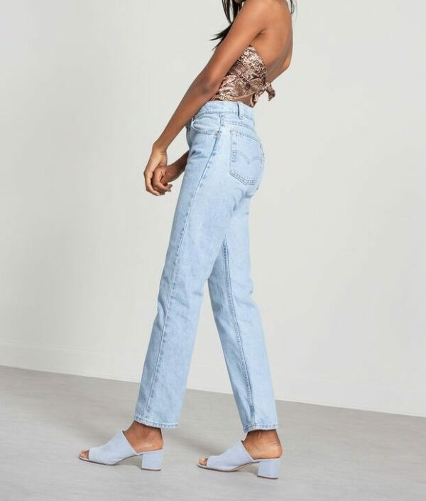 Levi's 505 Clear Blue Jeans 4