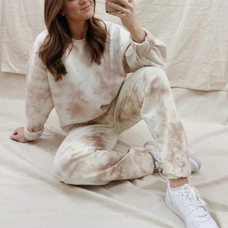 Tye Dye Loungewear Jumper and Joggers Set